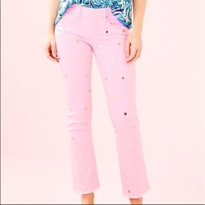 Lilly Pulitzer Polka Dot Jeans